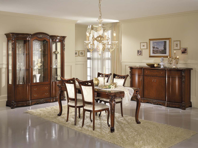 Tende per sala da pranzo classica tende per sala da for Stanza da pranzo moderna